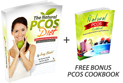 The Natural PCOS Diet Book + bonus CookBook