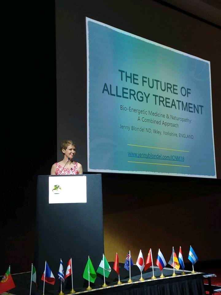 International congress on Naturopathic Medicine Jenny Blondel Naturopath
